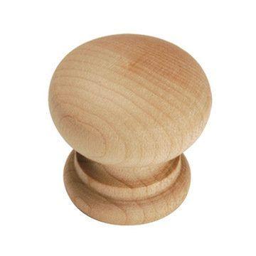 Belwith Keeler Natural Woodcraft Round Knob