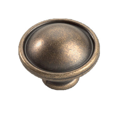 Hickory Hardware Oxford Antique Button Knob