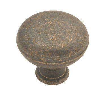 Hickory Hardware Oxford Antique Round Knob