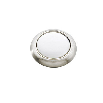 Belwith Keeler Tranquility Knob With White Insert