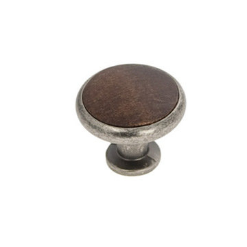 Belwith Keeler Tranquility Knob With Wood Insert
