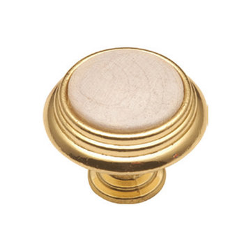 Belwith Keeler Woodgrain Stepped Knob