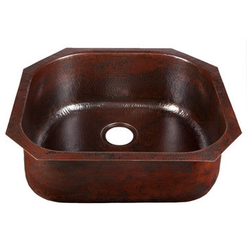D-Bowl Copper Kitchen Sink