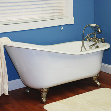 Restorers 61 Inch Slipper Clawfoot Cast Iron Bath Tub