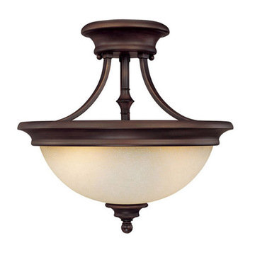 Capital Lighting Belmont 2 Light Semi-Flush Ceiling Fixture