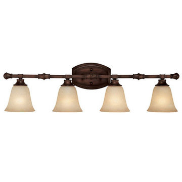 Capital Lighting Belmont 4 Light Vanity Fixture