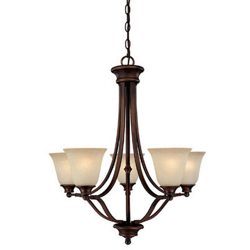 Capital Lighting Belmont 5 Light Chandelier