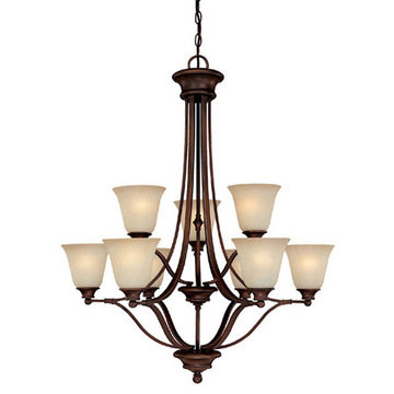 Capital Lighting Belmont 9 Light Chandelier