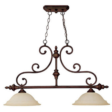 Capital Lighting Chandler 2 Light Island Fixture