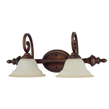 Capital Lighting Chandler 2 Light Vanity Fixture