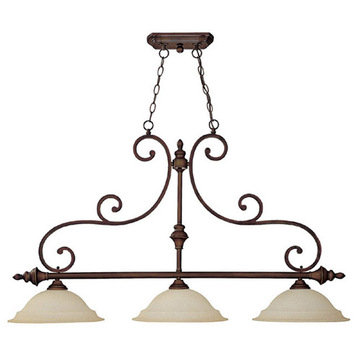 Capital Lighting Chandler 3 Light Island Fixture