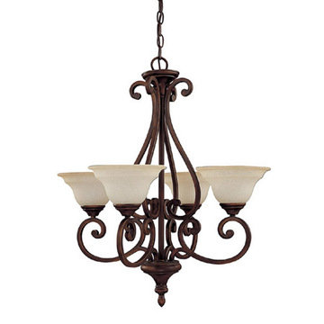 Capital Lighting Chandler 4 Light Chandelier