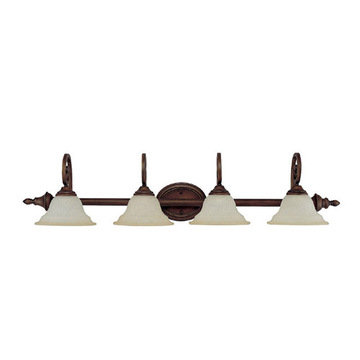 Capital Lighting Chandler 4 Light Vanity Fixture