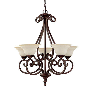 Capital Lighting Chandler 5 Light Chandelier
