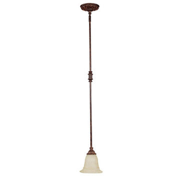 Capital Lighting Chesterfield 1 Light Mini Pendant