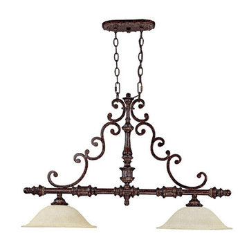 Capital Lighting Chesterfield 2 Light Island Fixture