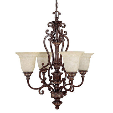 Capital Lighting Chesterfield 4 Light Chandelier