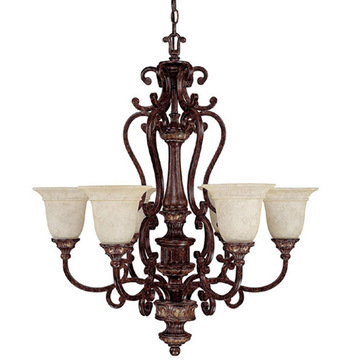 Capital Lighting Chesterfield 6 Light Chandelier