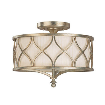 Capital Lighting Fifth Avenue 3 Light Semi-Flush