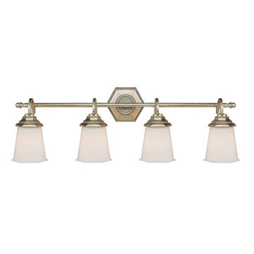 Capital Lighting Fifth Avenue 4 Light Vanity Fixture