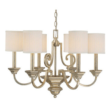 Capital Lighting Fifth Avenue 6 Light Chandelier