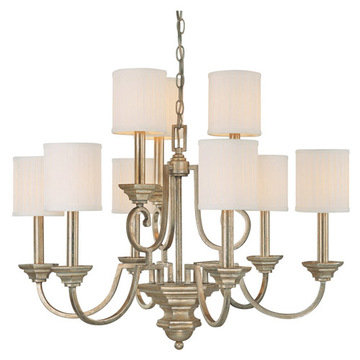 Capital Lighting Fifth Avenue 9 Light Chandelier