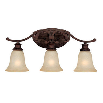 Capital Lighting Hill House 3 Light Vanity Fixture