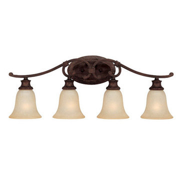 Capital Lighting Hill House 4 Light Vanity Fixture