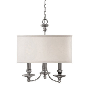 Capital Lighting Midtown 3 Light Chandelier