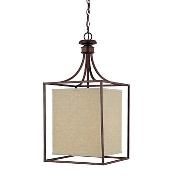 Capital Lighting Midtown Square 2 Light Foyer Fixture