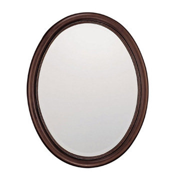 Capital Lighting Oval Burnished Bronze Mirror