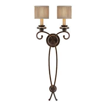 Capital Lighting Park Place 2 Light Tall Sconce