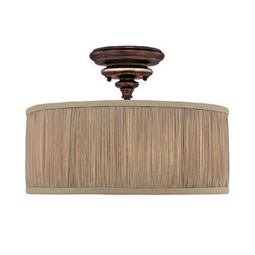 Capital Lighting Park Place 3 Light Semi-Flush Fixture