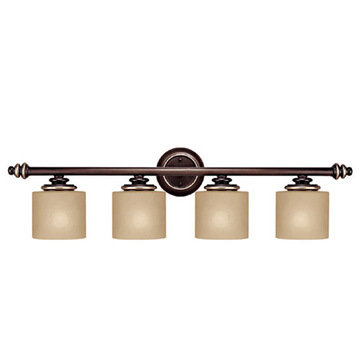 Capital Lighting Park Place 4 Light Vanity Fixture