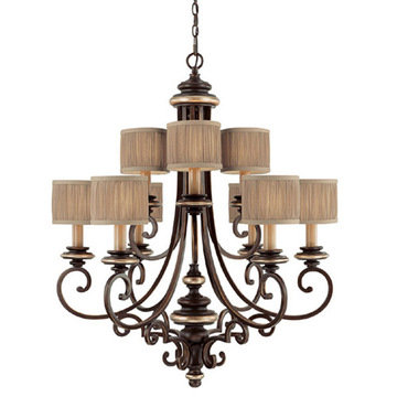 Capital Lighting Park Place 9 Light Chandelier