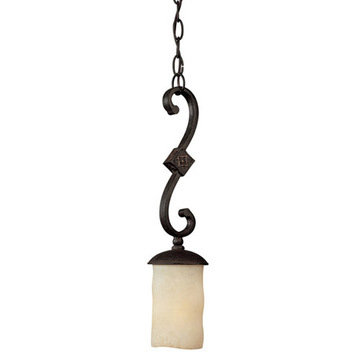 Capital Lighting River Crest 1 Light Mini Pendant