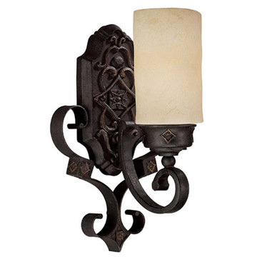 Capital Lighting River Crest 1 Light Petite Sconce