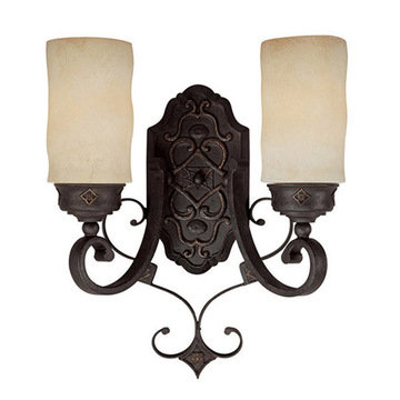 Capital Lighting River Crest 2 Light Petite Sconce