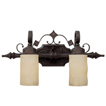 Capital Lighting River Crest 2 Light Vanity Fixture