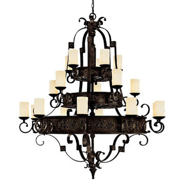 Capital Lighting River Crest 20 Light Chandelier