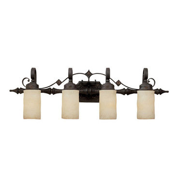 Capital Lighting River Crest 4 Light Vanity Fixture