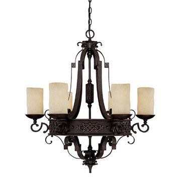 Capital Lighting River Crest 6 Light Chandelier