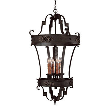 Capital Lighting River Crest 6 Light Foyer Fixture