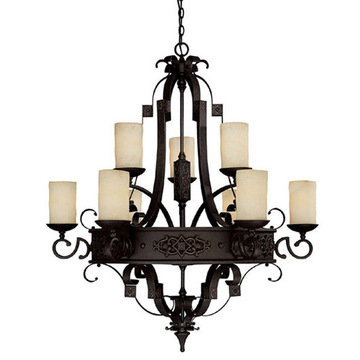 Capital Lighting River Crest 9 Light Chandelier
