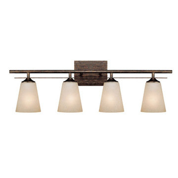 Capital Lighting Soho 4 Light Vanity Fixture