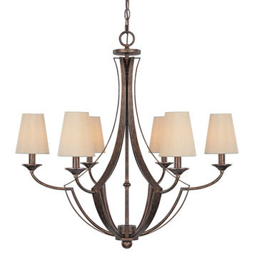 Capital Lighting Soho 6 Light Chandelier