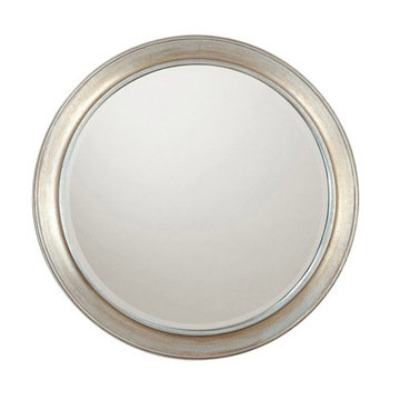 Capital Lighting Winter Gold Round Mirror