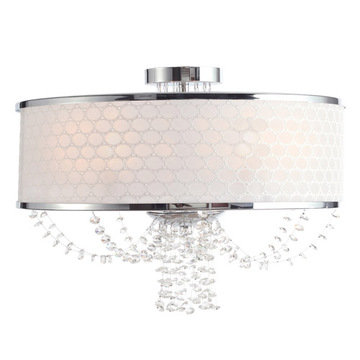 Crystorama Allure Collection 5 Light Chandelier