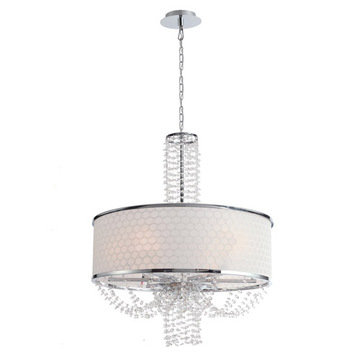 Crystorama Allure Collection 6 Light Chandelier