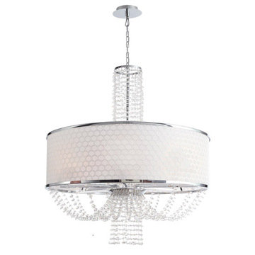 Crystorama Allure Collection 8 Light Chandelier